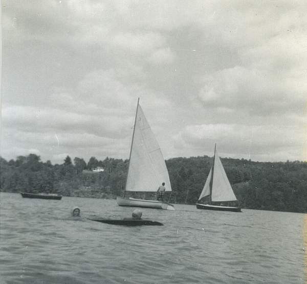 Sailing day 1957