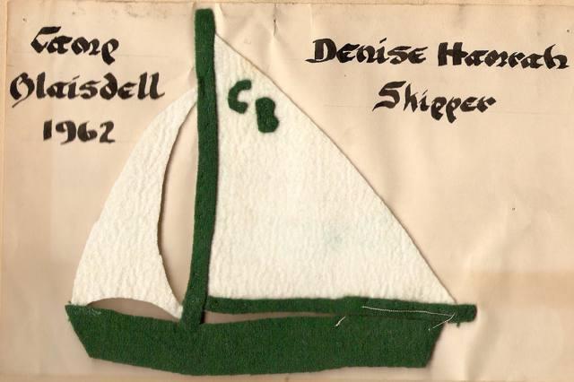 felt sailboat