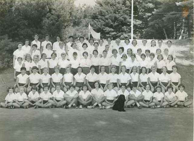 Camp photo 1956