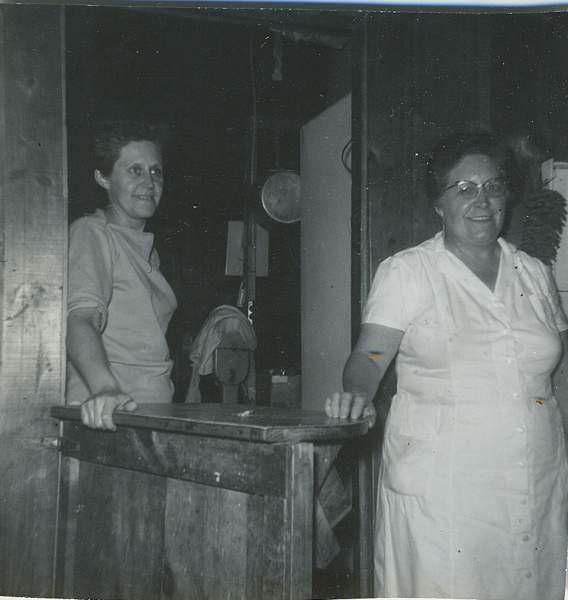 Ella and Mrs. E