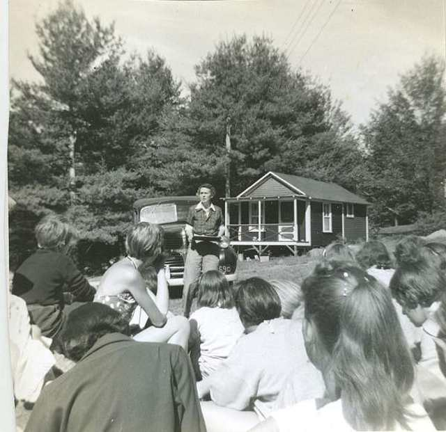 Miss Lee 1957 Assembly