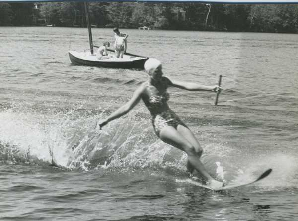 Waterskiing 1960