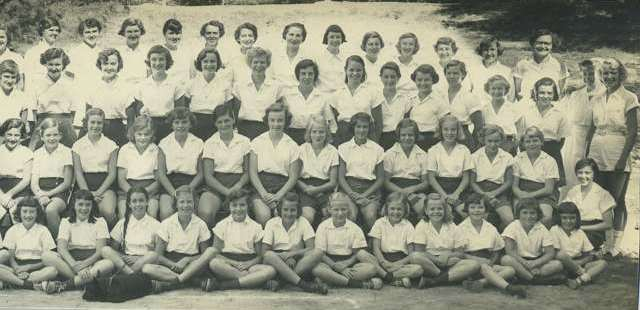 Camp photo 1953 continued