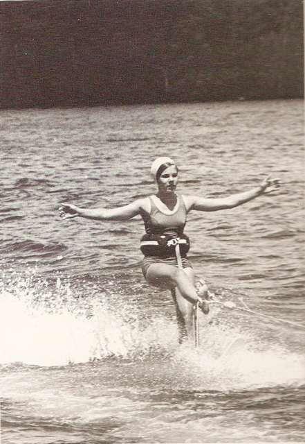 water-skier